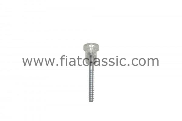 Schlusslichtschraube weiß 3,5 cm Fiat 126