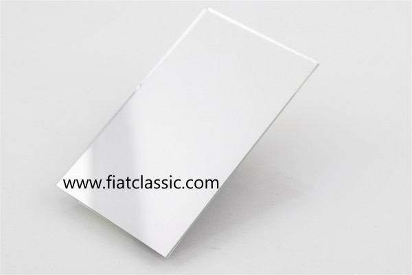 Spiegel für Sonnenblende zum kleben 12x17cm Fiat 500 - Fiat 600