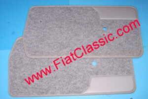 Türverkleidungen grau (Paar) Fiat 126