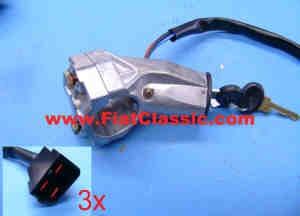 Zündlenkschloss für Seilzuganlasser Fiat 126 (1. und 2. Serie)