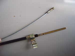 Câble d'embrayage 2150 mm / 330 mm à partir de 1974 Fiat 500 Giardiniera F