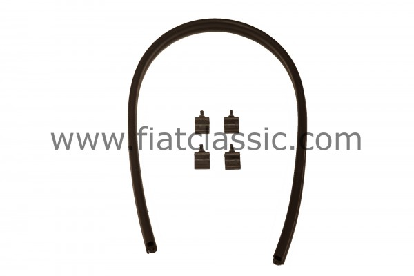Rubber kit for bonnet Fiat 500