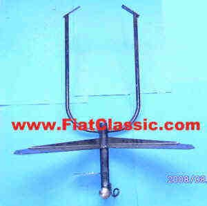 Trailer hitch Fiat 126 (1st and 2nd series)