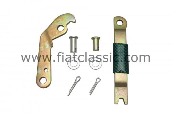 Mounting kit handbrake cable left Fiat 126 - Fiat 500