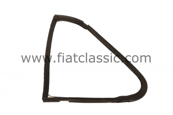 Frame rubber for opening window left Fiat 500