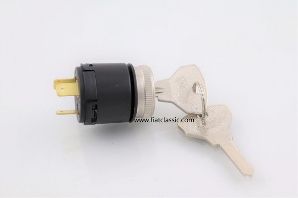 Ignition lock with chrome ring Fiat 500 - Fiat 600