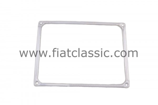 License plate holder (front) - Stainless steel