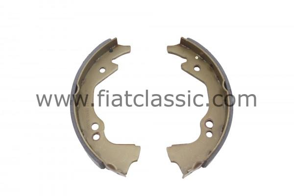 Plaquette de frein (3 trous) (2 pièces) Fiat 500 D Giardiniera - Fiat 600