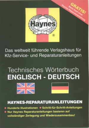 Technical Dictionary English-German