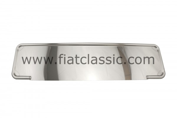 license plate holder stainless steel 52cm - Fiat 126 - Fiat 500 - Fiat 600