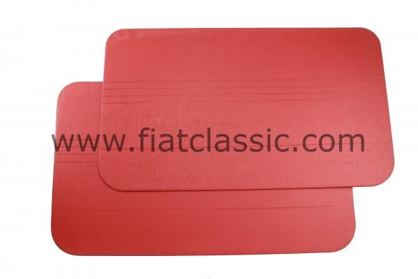 Deurpaneel rood (paar) Fiat 500 R
