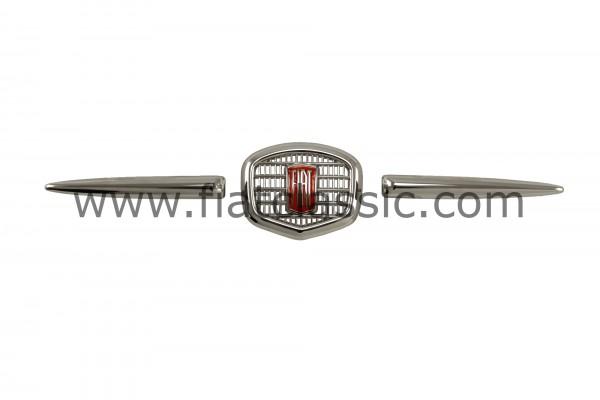 Front emblem metal chrome Fiat 500 N/D/F