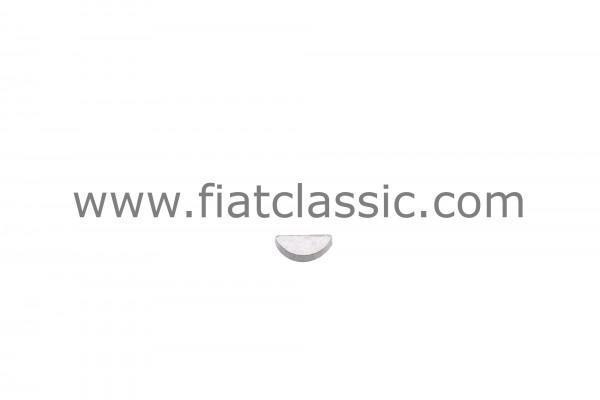 Wedge for alternator shaft three-phase current Fiat 126 - Fiat 500