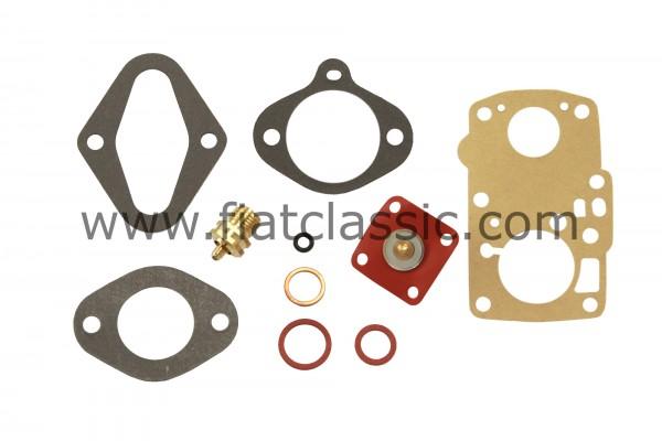 Repair kit for carburetor SOLEX 28 PIB 3 Fiat 600