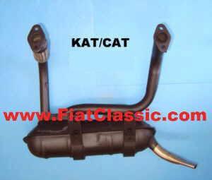 Exhaust system KAT Fiat 126 - Fiat 500 R