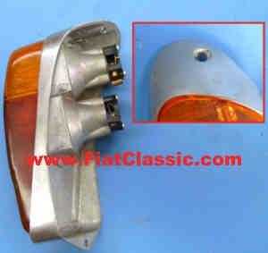 Taillight left Aluminium Fiat 600