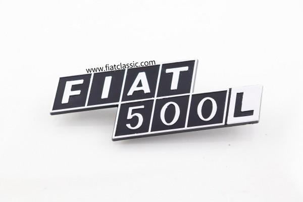 Achterkant embleem Fiat 500 L