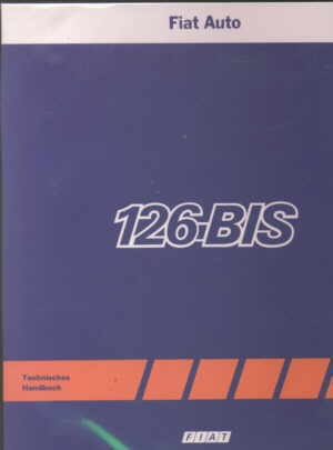 Technical Service Manual Fiat 126 (BIS)