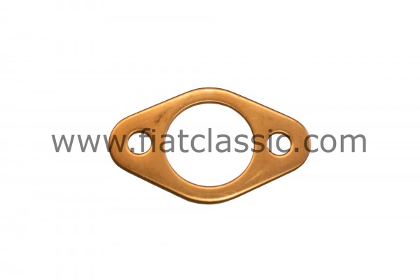 Copper flange gasket for exhaust Fiat 126 - Fiat 500