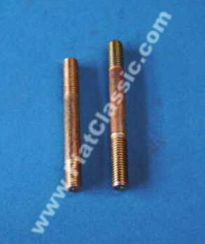 Carburetor studs bottom pair Fiat 126 - Fiat 500
