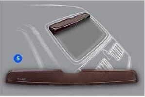 Rear spoiler Fiat 126