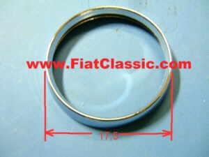 Chrome headlight ring 17,5 cm Fiat 500 Bianchina