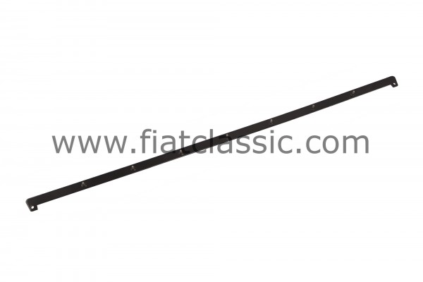 Folding roof rail rear black powder-coated Fiat 500
