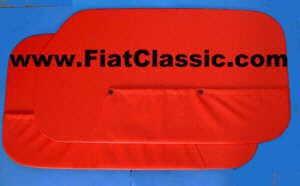 Pannelli porta rossi (2 fori) Fiat 600