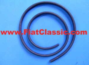 Rubber seal for folding roof front Fiat 500 Bianchina