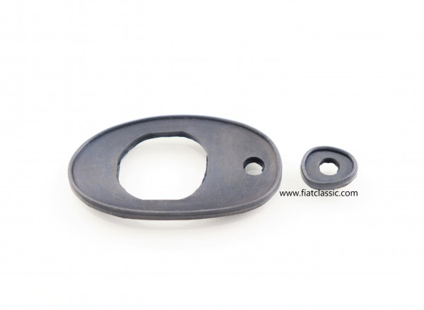 Door handle pad (outside) Trasformabile Fiat 500 Bianchina