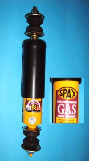 SPAX rear shock absorber GAS 25 mm deep Fiat 126 - Fiat 500