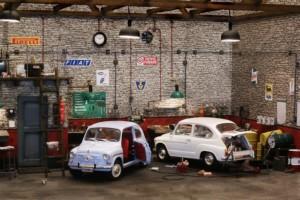 Diorama Fiat 126 - Fiat 500 - Fiat 600