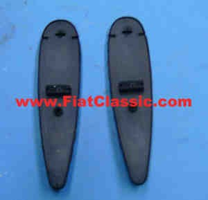 Pair of gaskets turn signals front Fiat 600