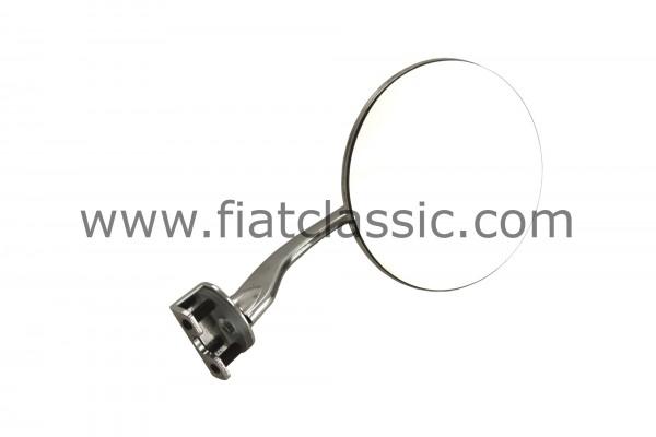 Klemmspiegel für Tür 125 mm Fiat 126 - Fiat 500 - Fiat 600