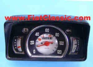 Compteur de vitesse utilisé noir - non testé - Zastava 750