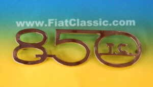 Emblem 850 TC 147x45mm Fiat 600