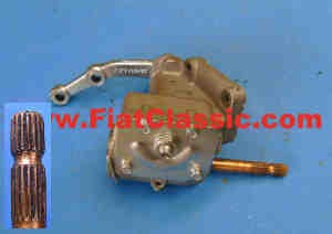 Steering gear in exchange left-hand drive Fiat 126 - Fiat 500