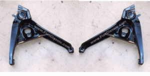 Hinterradschwingen gebraucht gesandstr. pulver Fiat 126 (BIS)