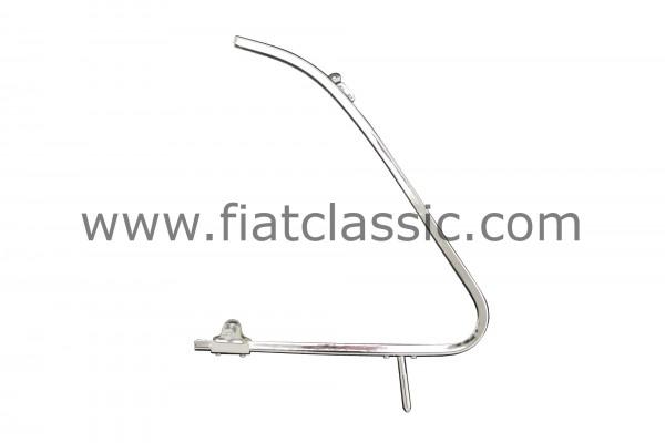 Ausstellfenster-Rahmen links, mit Knebelhalter Fiat 500