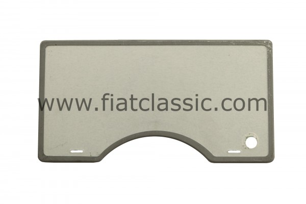 Insulation plate for engine flap Fiat 500 high-quality