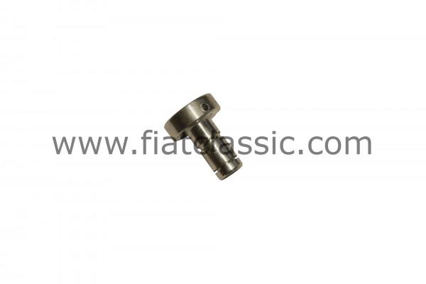 Geleidingshuls / katrol voor de gaskabel van aluminium Fiat 126 - Fiat 500