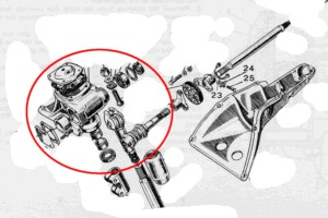 Lenkgetriebe Austausch Fiat 600 Multipla