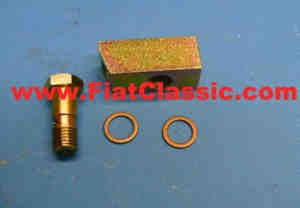 Intermediate piece for oil pressure sensor Fiat 126 - Fiat 500 - Fiat 600