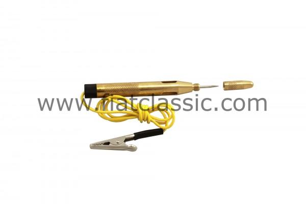 Lampe d'essai 12 V pour le réglage de l'éclairage et de l'allumage Fiat 126 - Fiat 500 - Fiat 600