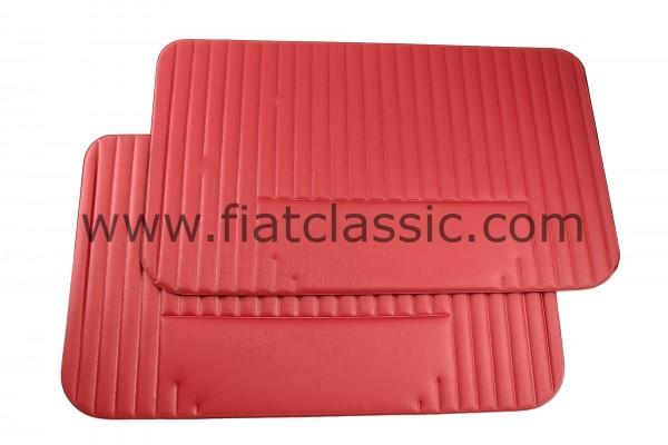 Pannello porta rosso (coppia) Fiat 500 L