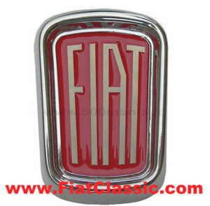 Frontemblem Metall chrom Fiat 500 (nicht Bianchina)