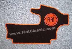 Kofferraumteppich mit Fiat-Logo Fiat 500