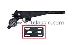Coussinet en caoutchouc pour levier de frein à main Fiat 126 - Fiat 500 - Fiat 600