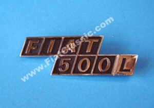 Stemma posteriore in metallo Fiat 500 L