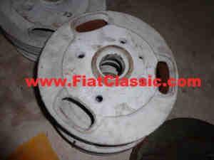 Tambour de frein avant 98 mm new/br. Fiat 500 Giardiniera/Bianchina - Fiat 600